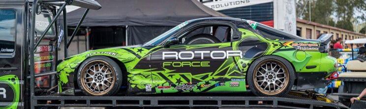 rotor force rx7 fd race car